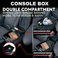 Consule Box with USB atau Armrest Box Mobil All New Brio, BRV, Mobilio
