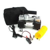 Kompresor Mini Portable Pompa Ban Mobil Bus Truk Double Cylinder 12V