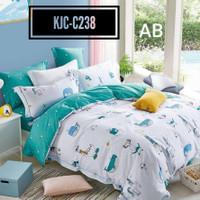 Sprei Anak Set Bed Cover Katun Jepang Original Ukuran 160x200 T.30