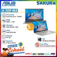 "ASUS A509MA-HD421-HD422| N4020 RAM 4GB SSD 256GB 15,6""HD W10+OHS"