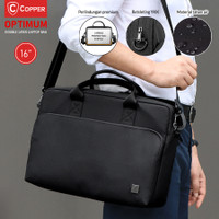 COPPER Optimum Double Layer 16 / Tas laptop Slingbag Multifungsi