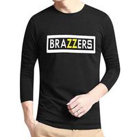 Kaos Baju Combed Distro BRAZZERS BRAZERS BRAZZER polos custom PANJANG