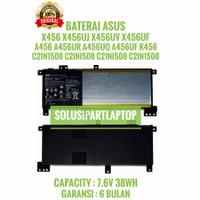 BATERAI ASUS X456 A456 A456UR A456UQ A456UF K456 K456U C21N1508 ORI