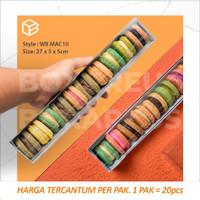 Box Macaron / Macaroon Packaging / Kotak Dus Kue Kering | WB MAC10