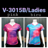 baju kaos olahraga badminton cewek cod V-3015B Ladies