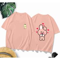 T-Shirt Koa Salem XL / Baju Kaos Wanita XL Oversized Katun Combed 30s