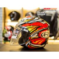 Helm Motor ARAI SZ-RAM4 Nakagami Half / Open Face Helmets Original