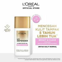 LOREAL UV Defender Matte & Fresh / Bright & Clear / Sunscreen 7ml / 30 - Brigh&clear50ml