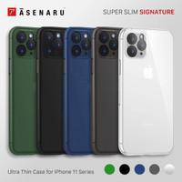 Asenaru iPhone 11/Pro/Max Case Super Slim Signature Casing
