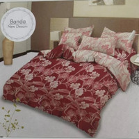 bed cover lady rose sprei karet no2 uk 160x200 motif Banda