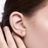 Lys - Anting Studs Perak 925 Silver 18k Gold Plated Earring