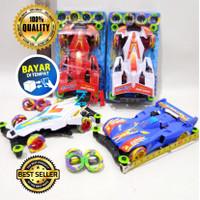 Mainan Anak Mobil Tamiya Mini 4WD LU 1 Racing Car