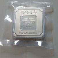 Perak Batangan/Silver Bar Geiger Edelmetalle Schloss Guldengossa 10 oz