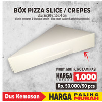 Box Pizza Slice POLOS / Crepes 20*15*4