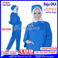 Baju OKA, Baju OKA / Baju Perawat, Pria Wanita Lengan Panjang