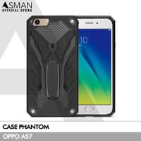 Hardcase Phantom OPPO A57 | Transformer Kick Stand - Hitam