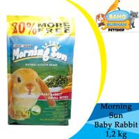 Makanan Kelinci Morning Sun Small Baby Rabbit 1,2 kg Makanan Premium