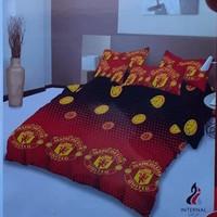 bed cover lady rose sprei karet no2 uk 160x200 motif Mu red