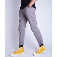 FS27 Celana Chinos Ankle Pant Fashion Pria Korean Style Slimfit