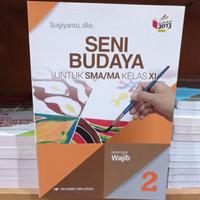 Wukon Buku Seni Budaya Wajib Sma Kelas 11 K13N Penerbit Erlangga