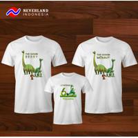 Kaos Couple Keluarga | Kaos Family Ultah The Good Dinosaurus
