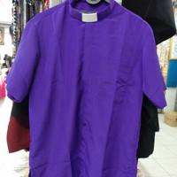 Baju Pendeta lengan Pendek ✓Free Clerical Collar