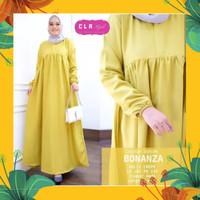 BONANZA DRESS MAXI dress muslim gamis murah baju hijab fashion muslim