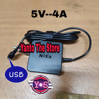 Adaptor Charger Laptop Acer One 10 S100X (5V-4A) USB Original