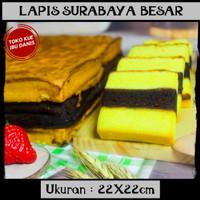 Lapis surabaya loyang resep kue bolu asli utk lebaran natal arisan