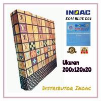 KASUR BUSA INOAC NO.4 TEBAL 20 CM ( BIRU 200 X 120 X 20 )