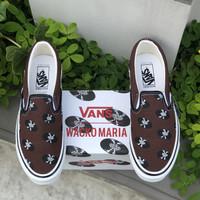 Vans Vault OG Slip On X Wacko Maria Brown Records - 42