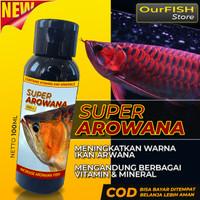 Vitamin Ikan Arwana SUPER AROWANA Arwana Super Red Golden Red Silver