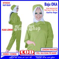 Baju OKA, Baju Perawat/Baju OKA, Pria Wanita Lengan Panjang