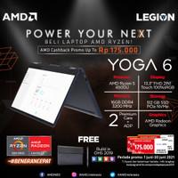 Lenovo Yoga 6 19ID 2in1 Touch Ryzen 5 4500 16GB 512ssd Vega6 W10 13.3 - + PROTECTION
