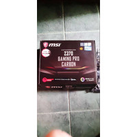Motherboard MSI Z370 Gaming Pro Carbon / Support Intel CoreTM #murah