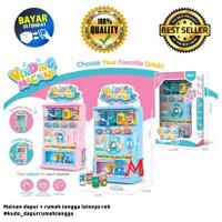 Mainan Anak Vending Machine Drink - Mesin Minuman Otomatis