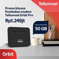 Telkomsel Orbit Pro Modem WiFi 4G High Speed Bonus Data 50GB
