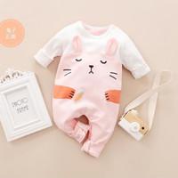 Jumper bayi 0-2 tahun motif bunny pink jumper bayi perempuan baju bayi