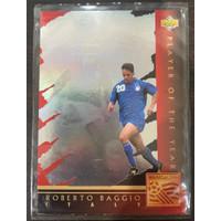 ROBERTO BAGGIO 1994 Upper Deck World Cup Soccer Football Italy Card #W
