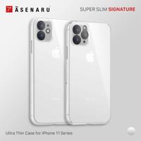 Asenaru iPhone 11/Pro/Max Clear Case Super Slim ClearFlex Clear Casing
