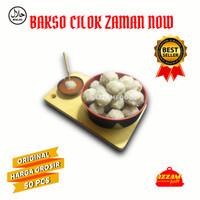 bakso cilok rasa daging sapi dan ayam.isi : 100