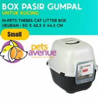 bak pasir kucing M-PETS THEBES Cat toilet Litter Box - kandang pasir