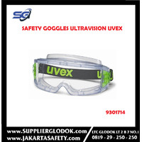 UVEX Safety Goggles Ultravision Wide Vision, CA Clear with Anti-Fog-93