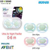 Philips Avent Ultra Air Night Time Orthodontic Pacifier Empeng