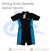 Baju Renang Diving Anak Speedo Active Sports - 1. Merah, M