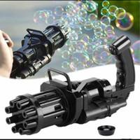 MACHINE BUBBLE GUN /mainan gatling gelembung balon air sabun automatic