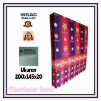 KASUR BUSA INOAC NO.3 TEBAL 20 CM ( HIJAU 200 X 145 X 20 )
