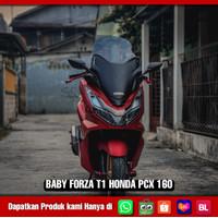 AFMOTO COVER DEPAN / TAMENG DEPAN BABY FORZA T1 NEW PCX 160