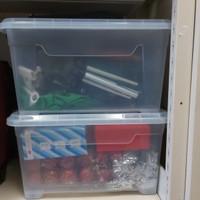Box Container Ezy CB 45 Liter Kotak Kontainer CB45 Sky Plastik Miniso