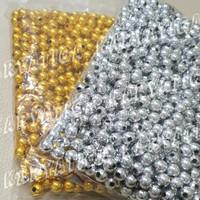 Mote / Manik Mutiara Bulat 10 mm Emas / Perak (450 gram)